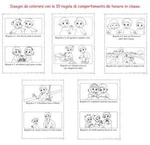 Regole Per La Classe Cerca Con Google Colori Scuola Materna Regole Della Classe Infanzia
