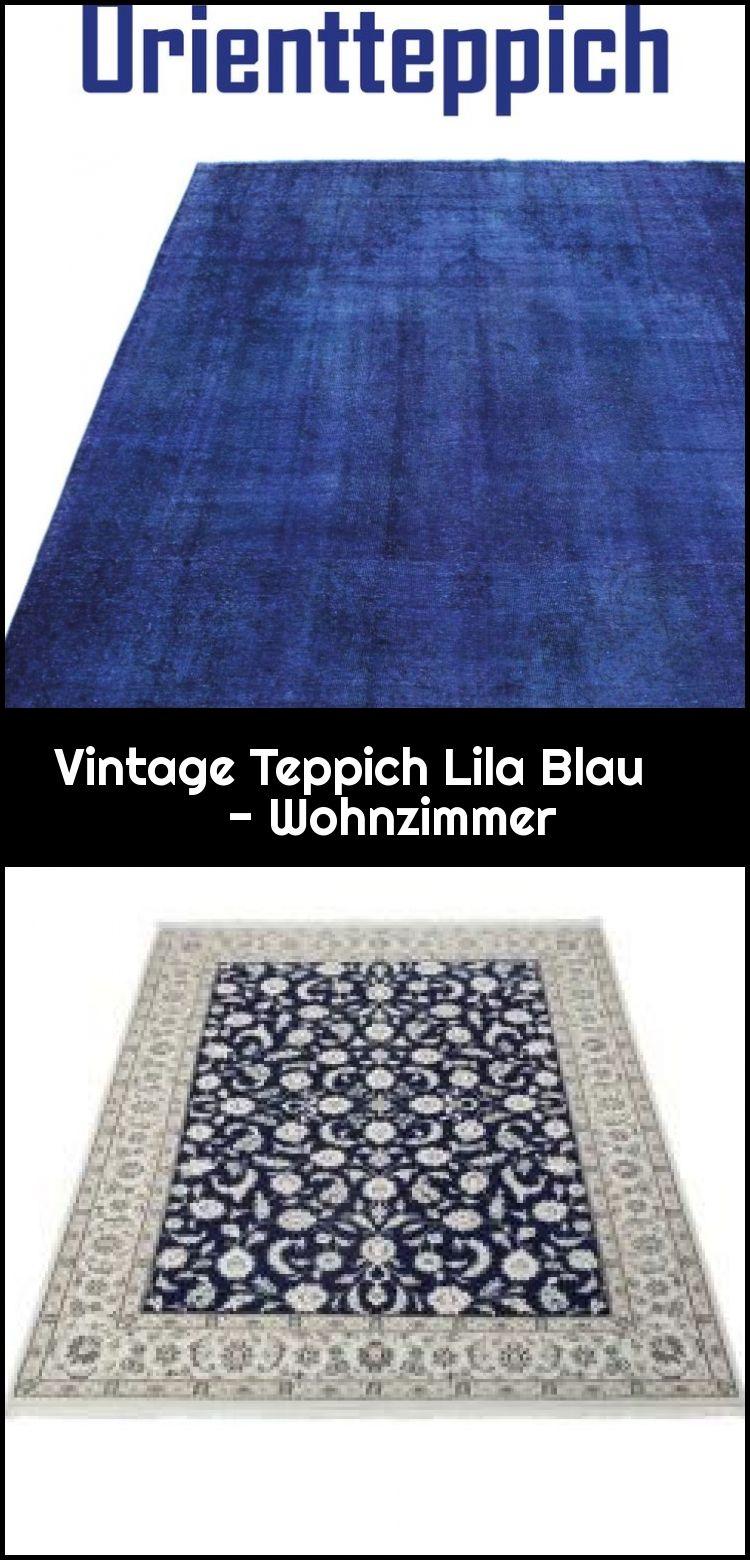 Vintage Teppich Lila Blau Wohnzimmer Blau Lila Teppich Vintage Wohnzimmer Lila Teppich Teppich Vintage Teppiche