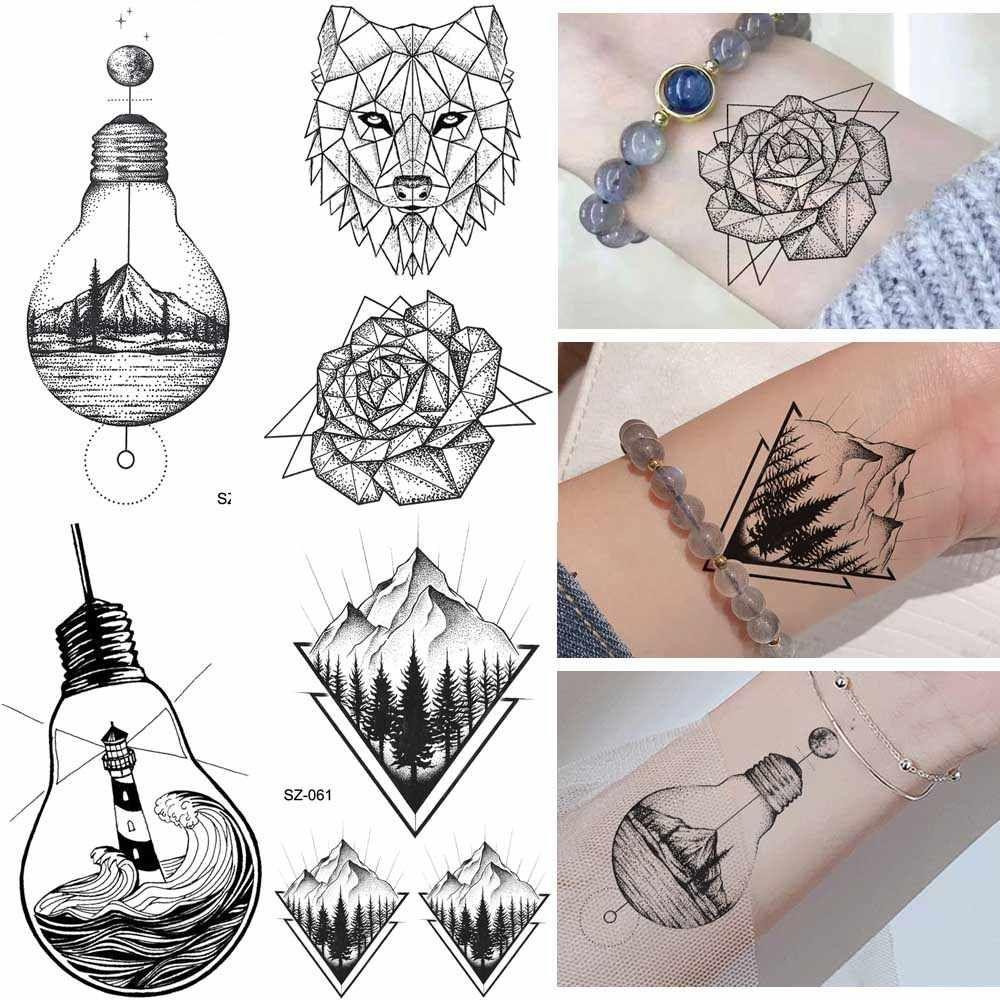 Временные татуировки в картинках