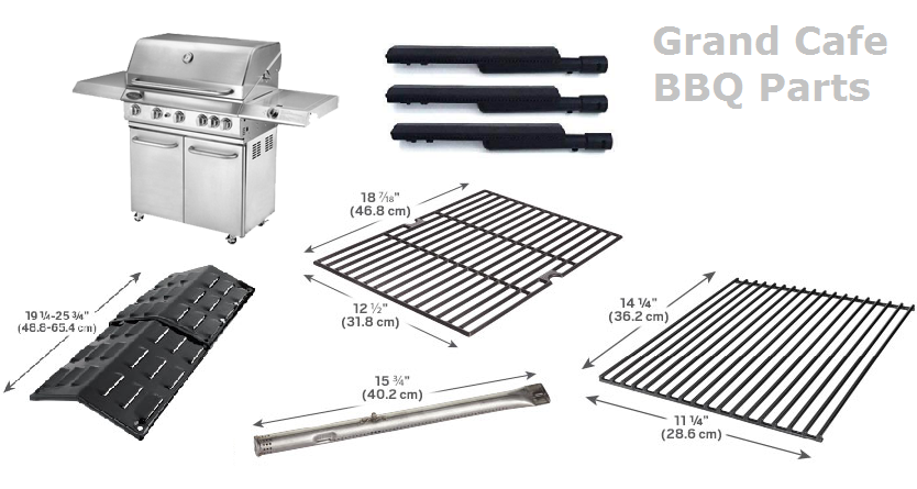 Grand Cafe Bbq Replacement Parts Bbq Parts Bbq Grill Parts