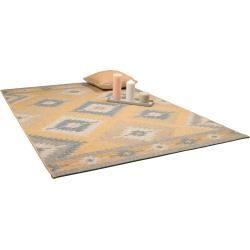 Reduced outdoor carpets -  benuta Plus indoor & outdoor rug Capri yellow 80×150 cm – for balcony, terrace & Gartenbenuta.de - #carpets #catnoir #frozenelsa #handmadehomedecor #homedecoritems #homedecorquotes #miraculousladybug #Onward #outdoor #reduced #SpongeBob #WonderPark