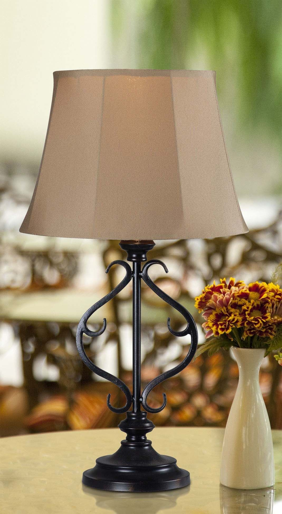 Clairmont Outdoor Solar Table Lamp Weather Tough With A Delicate