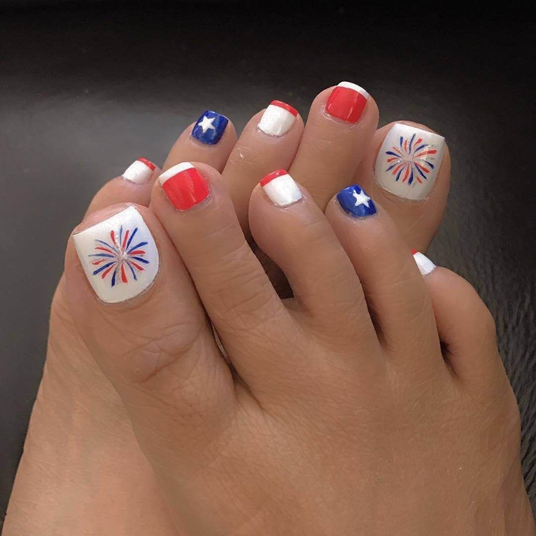 Mas De 40 Fotos De Unas Decoradas Para Pies Foot Nails