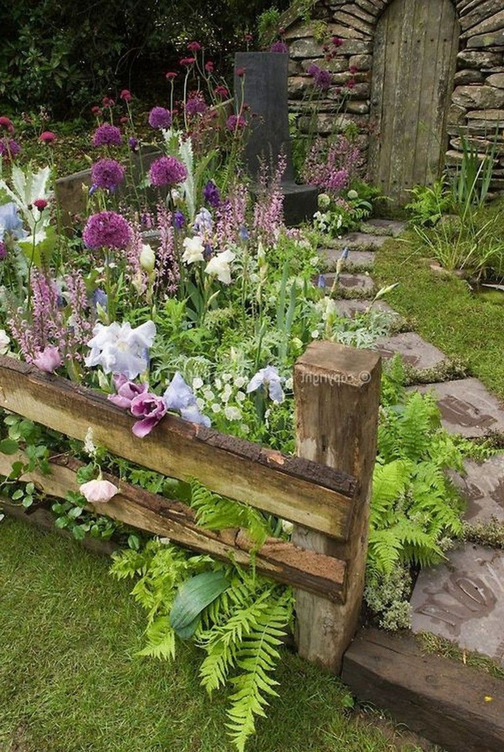 90 stunning cottage garden ideas for front yard on backyard landscape architecture inspirations id=39696