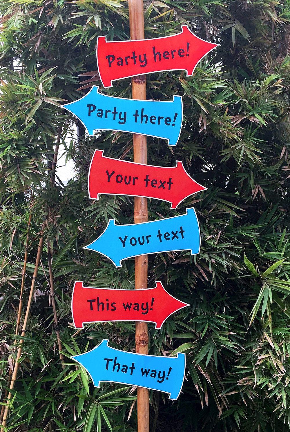 Dr Seuss Party Printables, Invitations & Decorations | Pinterest ...