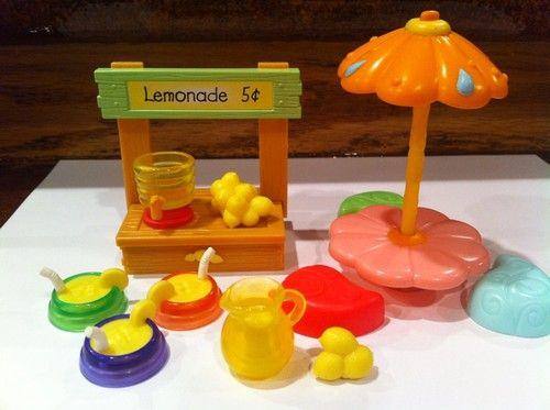 Toys R Us Lemonade Stand : Littlest pet shop lot of lemonade stand accessories