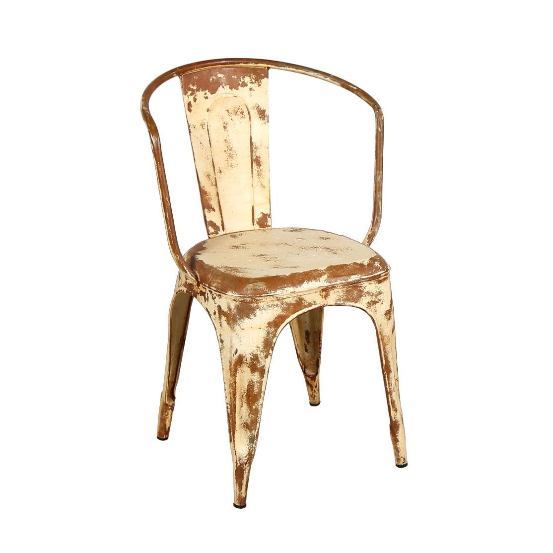 o'leary distressed armchair | dotandbo a classic cafe chair