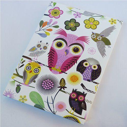 Roger la Borde Notecards - Elegant Owls - 8 cards…