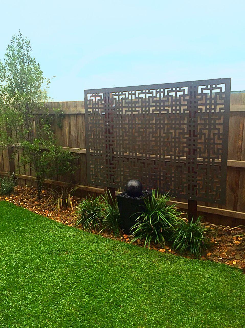 Decorative garden screens like QAQ\'s \'Tokyo\' design make great ...