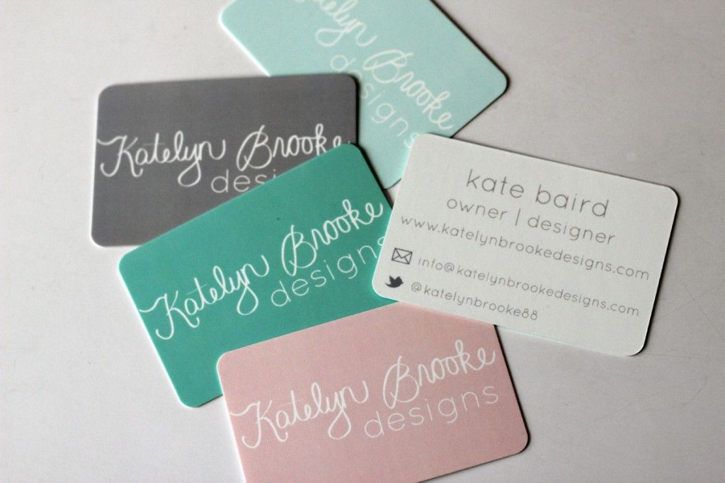 first set of business cards from Moo