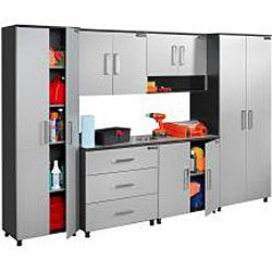 Black U0026 Decker Garage And Workshop 2 Door Wood Storage Cabinet By Black U0026  Decker