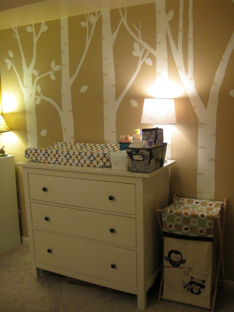 Artsy Woodland Animal Themed Nursery