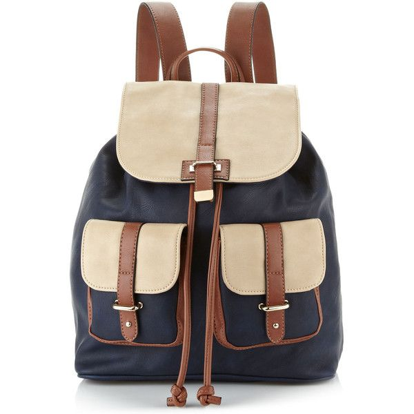 Accessorize Colour Block PU Rucksack $68
