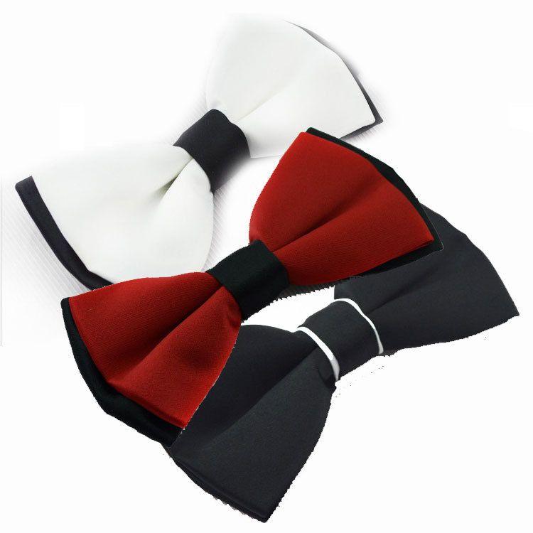 US Silk Mens Bowtie Black Gold Floral Pre Bow Tie Set Jacquard Quality Formal
