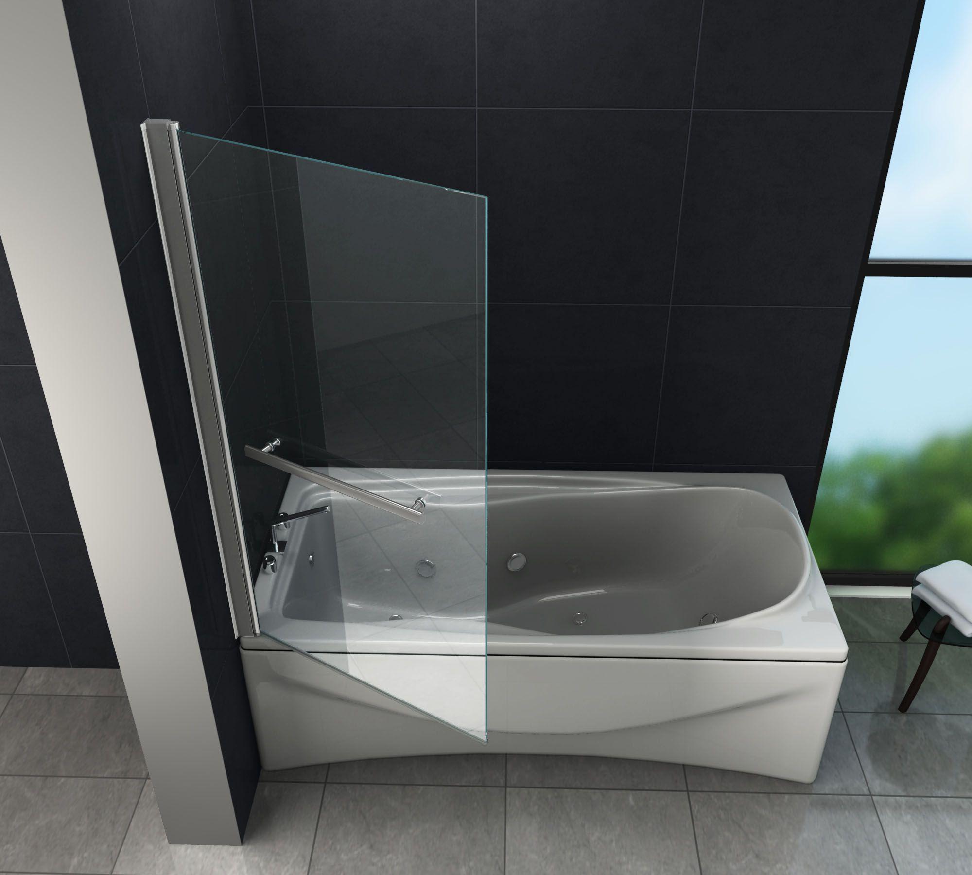 Unsere Duschabtrennung Quodo Damit Wird Das Duschen In Der Badewanne Ganz Einfach Glasdeals G Dusche Badewanne Badezimmer Design