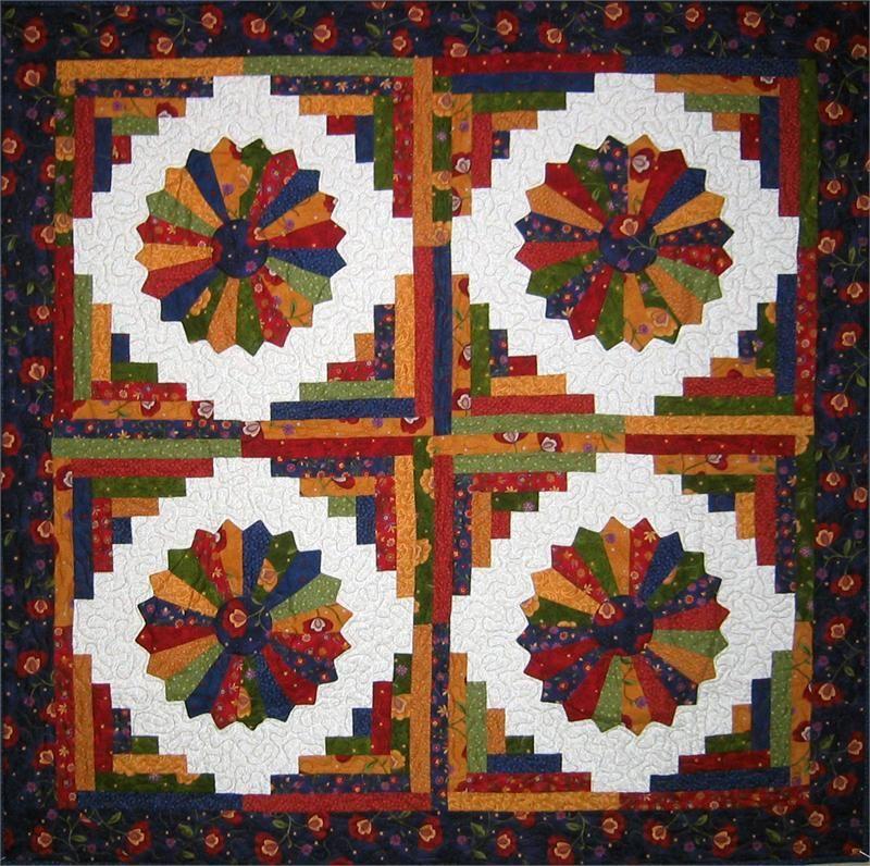Plate on the Veranda Quilt Pattern