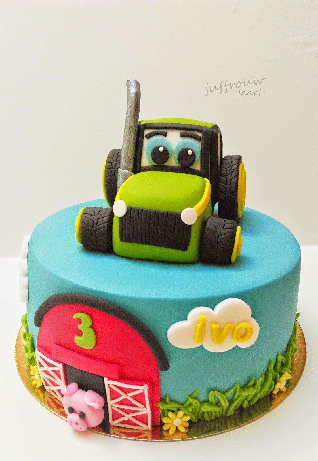 tractor taart Juffrouw Taart: Trekker taart   Home made cakes   Pinterest   Diys  tractor taart