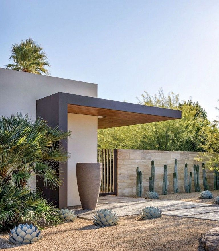 58+ Beautiful Low Maintenance Front Yard Landscaping Ideas