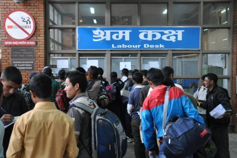 Nepalis For Foreign Jobs New Set of Migrant Workers to