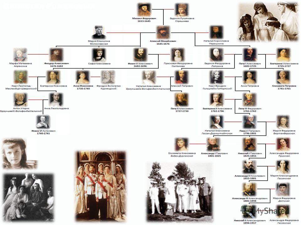 династия романовых с картинками пока нет
