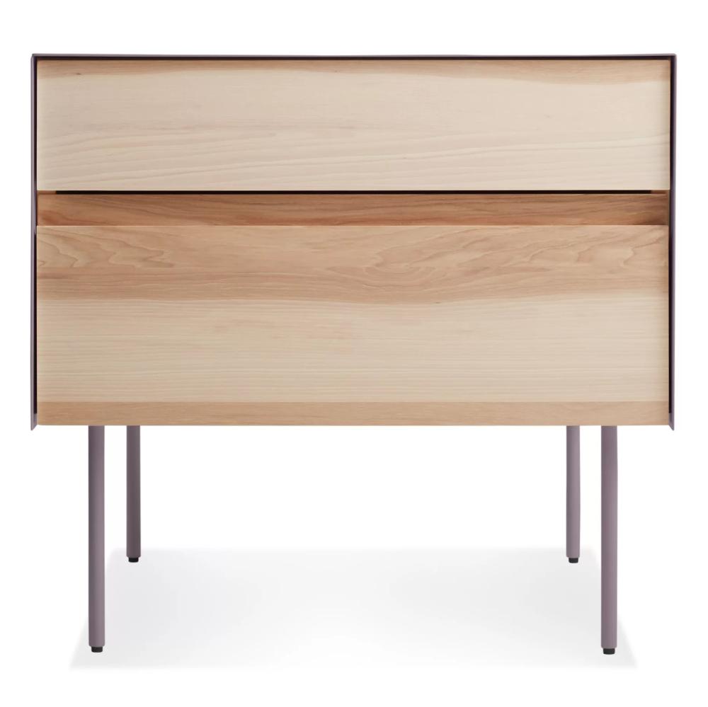 Clad Nightstand Modern bedside table, Modern nightstand
