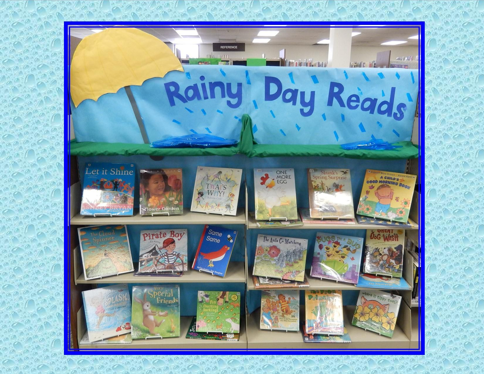 April Showers Bringrainy Day Reads )