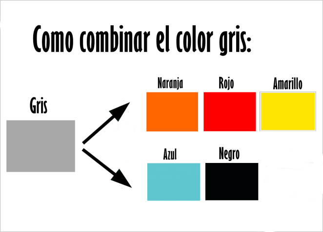 Combinar Colores Gris Combinar Colores Combinaciones Con Naranja Colores