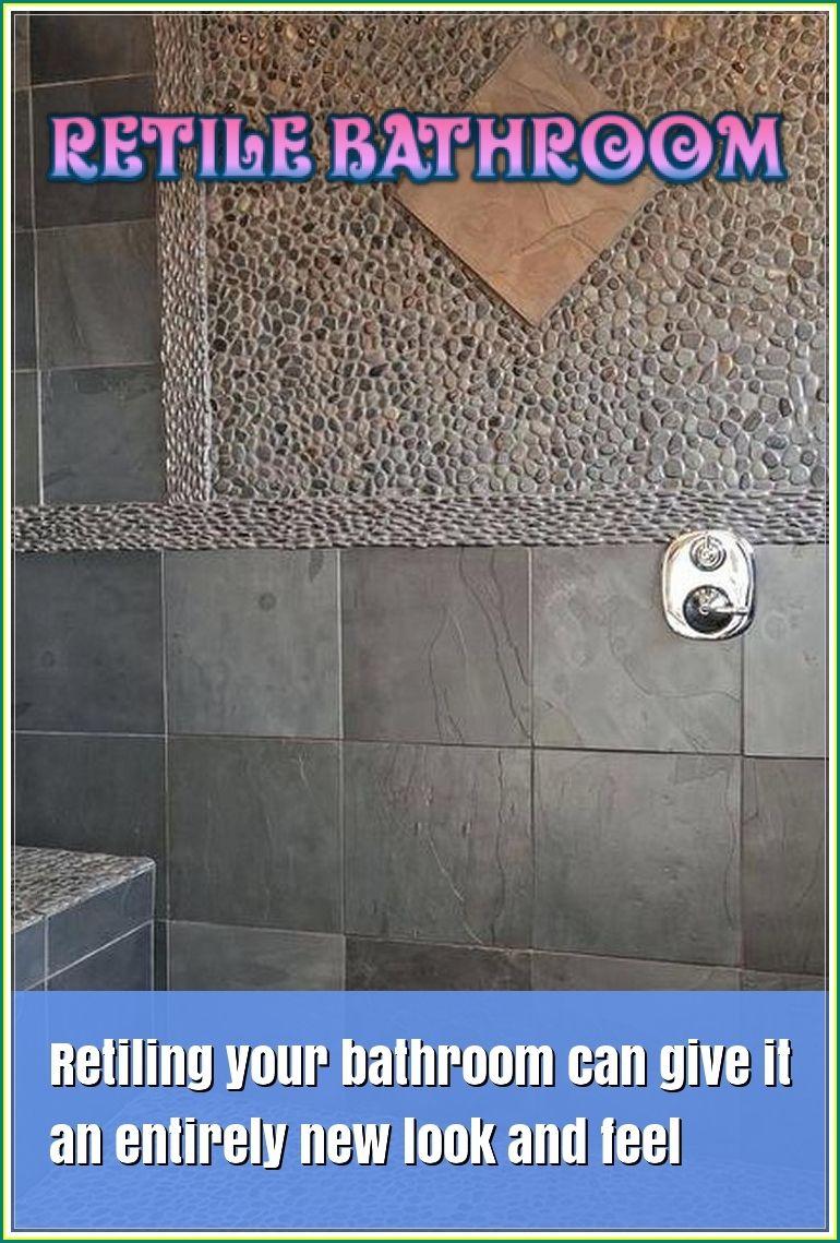 How To Retile Bathroom By Yourself Like The Professional Bathroom Themes Home Decor Tips Bathroom