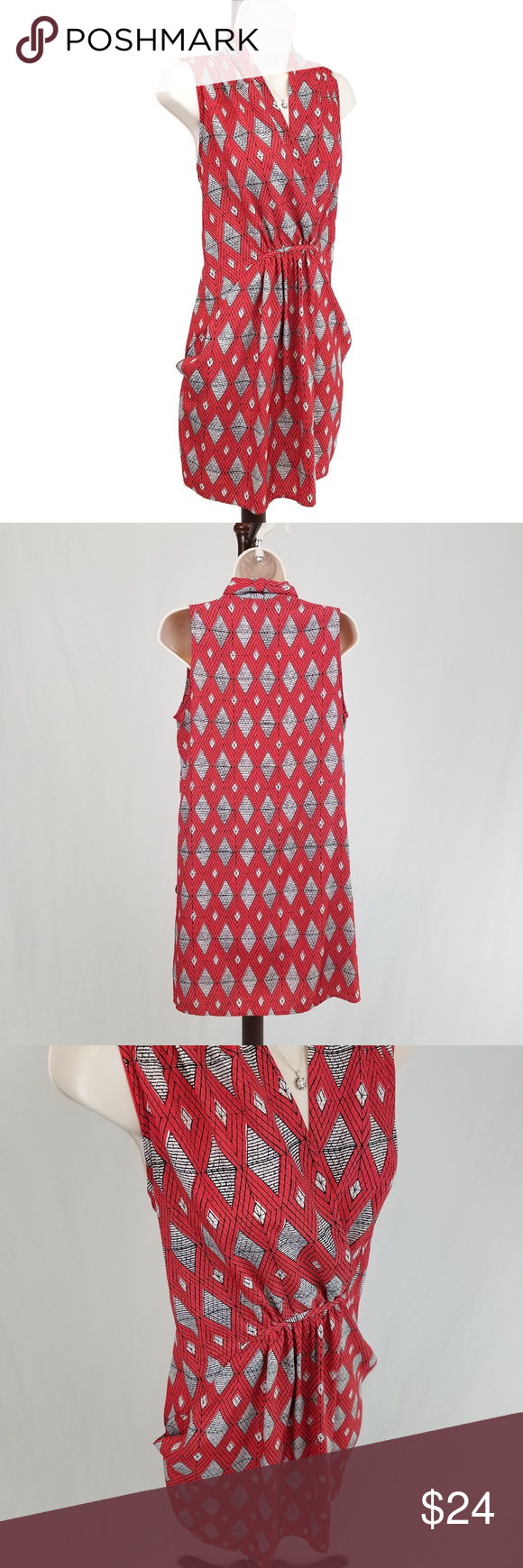 Collective concepts diamond print dress in my posh picks