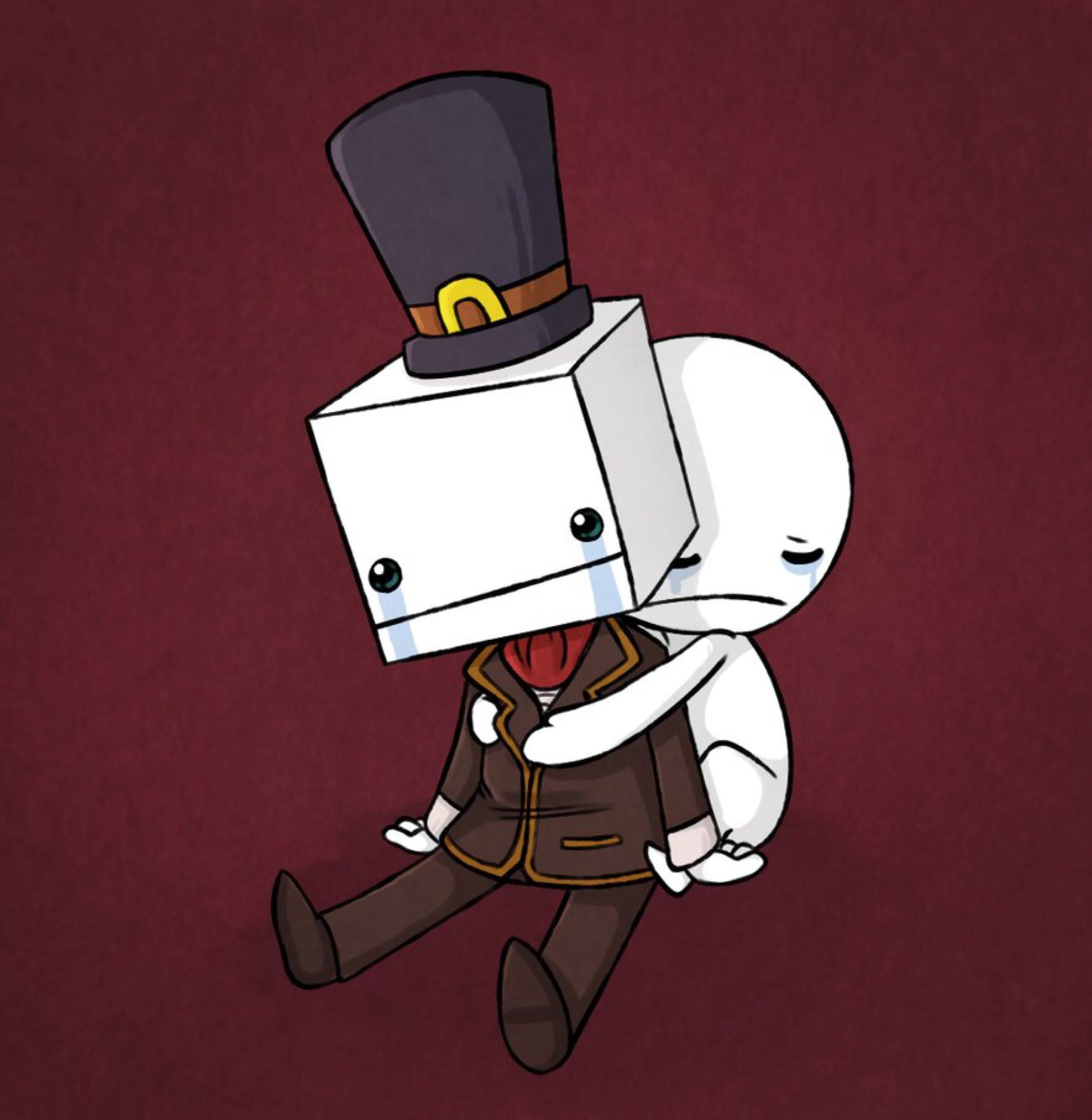 We Love You Hatty By Anipul On Deviantart Castle Crashers Game Art Fan Art