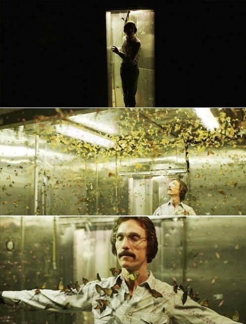 - ¿Extrañas tu vida normal? - ¿Vida normal? ¿Qué es eso? No existe. - Sí, supongo. - No, no, yo solo, yo solo quiero... - ¿Qué? - Tomar cerveza fría, montar toros de nuevo. - Llevar a mi novia a bailar, ¿entiendes? Quiero hijos. Tengo una vida, ¿no? La mía. Pero a veces quiero la de alguien más. A veces siento que estoy peleando por una vida que no tengo tiempo de vivir. Quiero que signifique algo. - Significa algo.   -Dallas Buyers Club