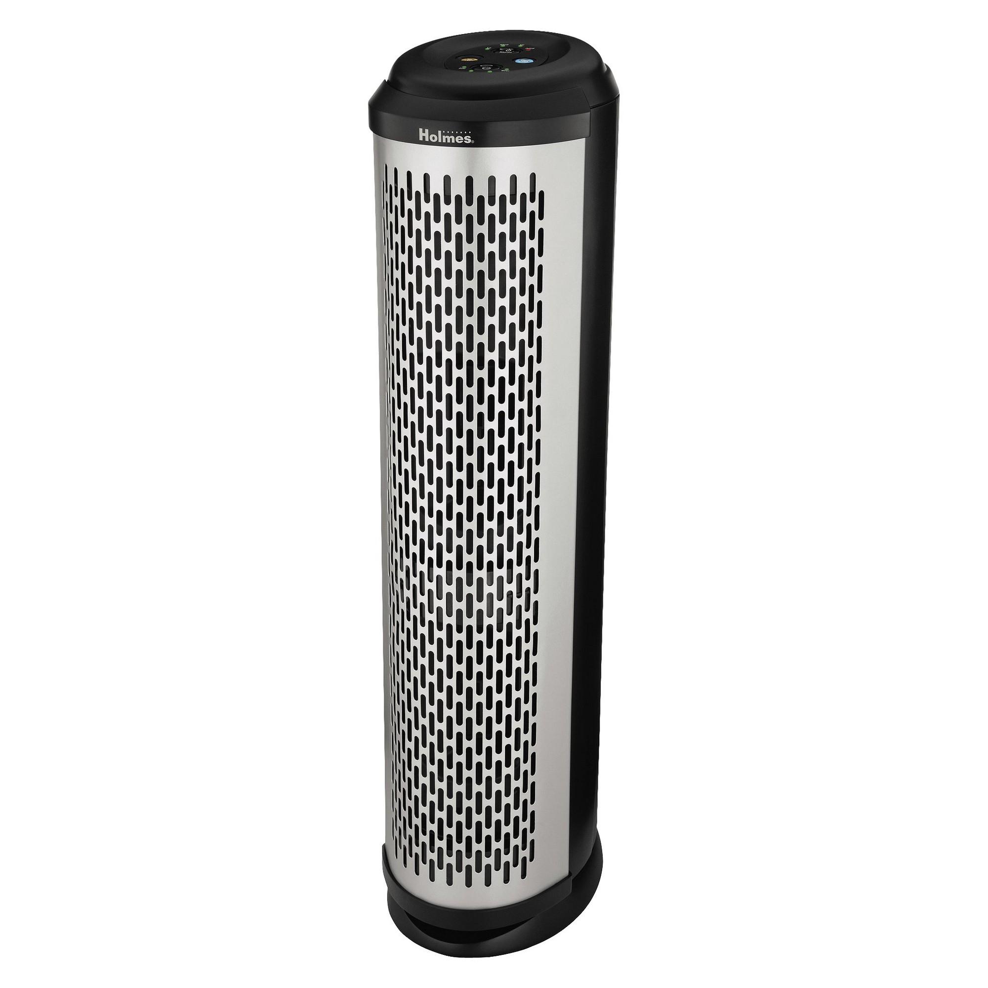 Holmes Allergen Tower Air Purifier HAP1702TU, White Air
