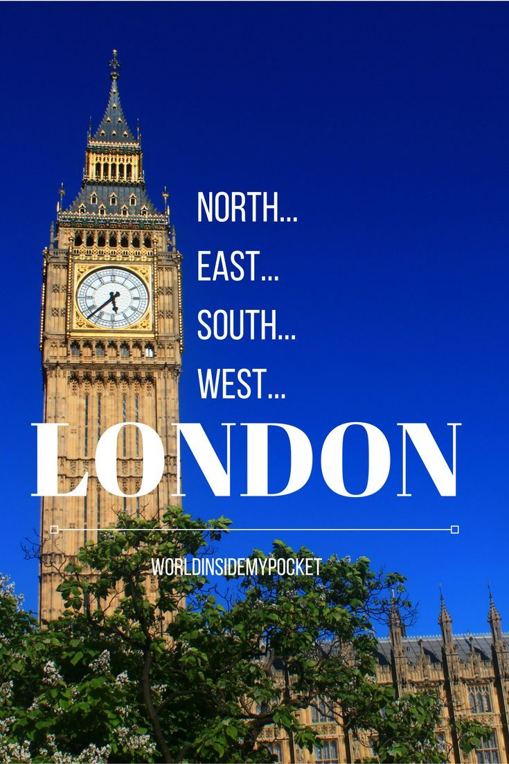 East London: North, East, South, West… London!