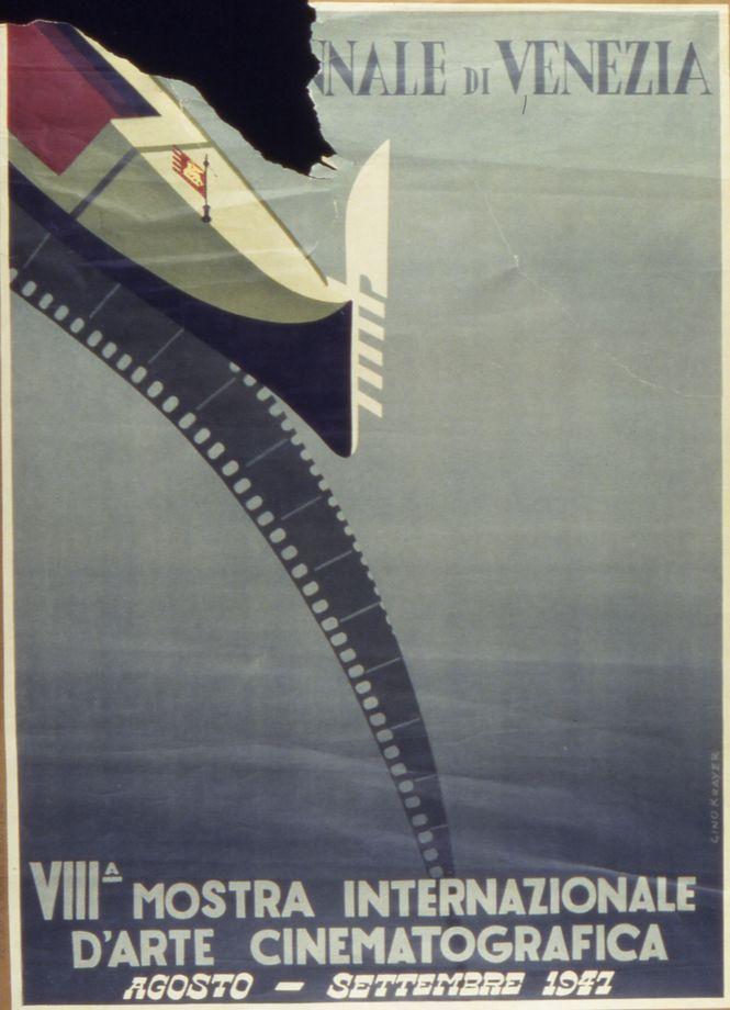 Manifesto Festival del Cinema di Venezia 1947