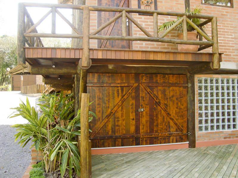 Cerca, Portão e Guarda-corpo de madeira - COBRIRE Construções em ...