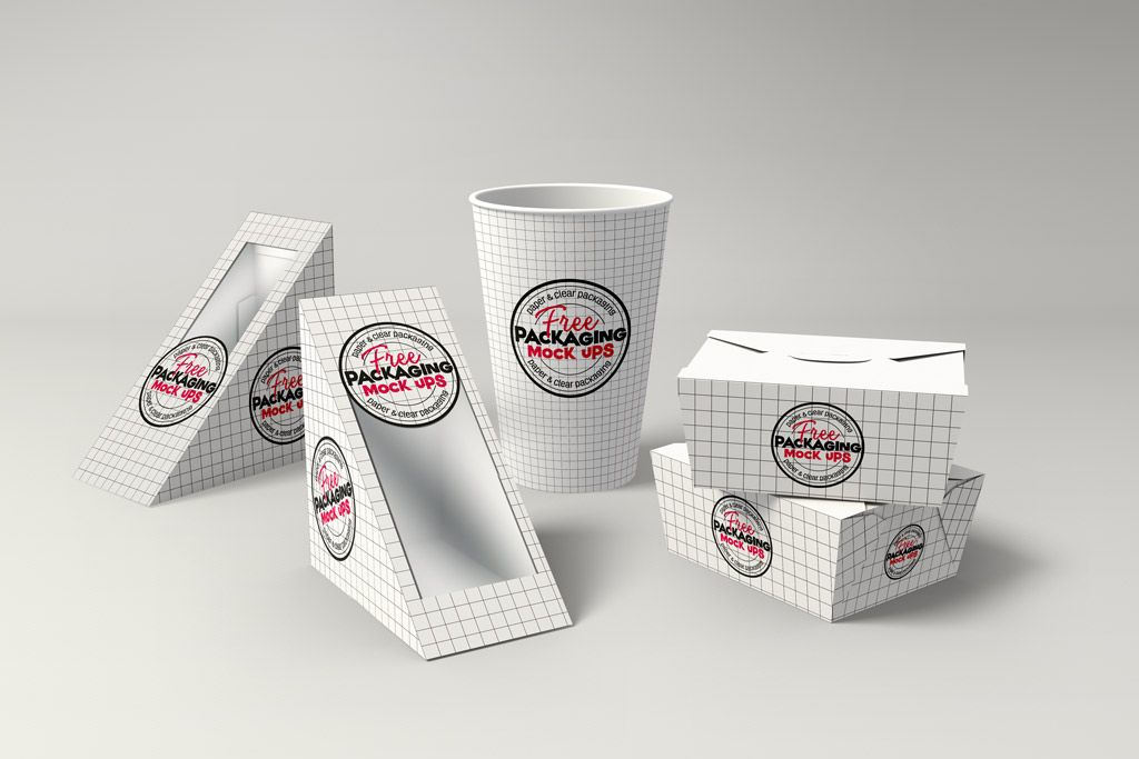 Download All Free Mockups Mockup World Packaging Mockup Sandwich Packaging Fries Packaging
