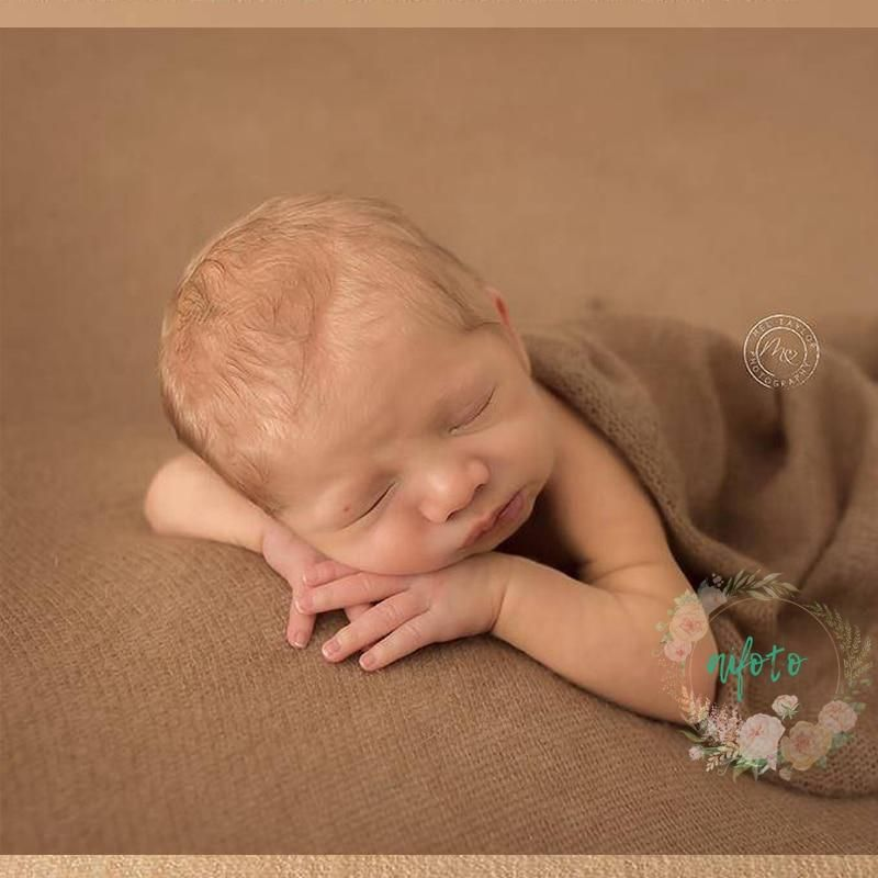 50 160 Cm Many Colors New Newborn Photo Prop Wraps Knit Soft