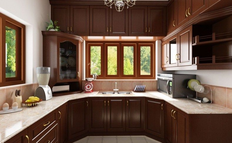 Traditional Indian Kitchen Designs | Simple kitchen design ...