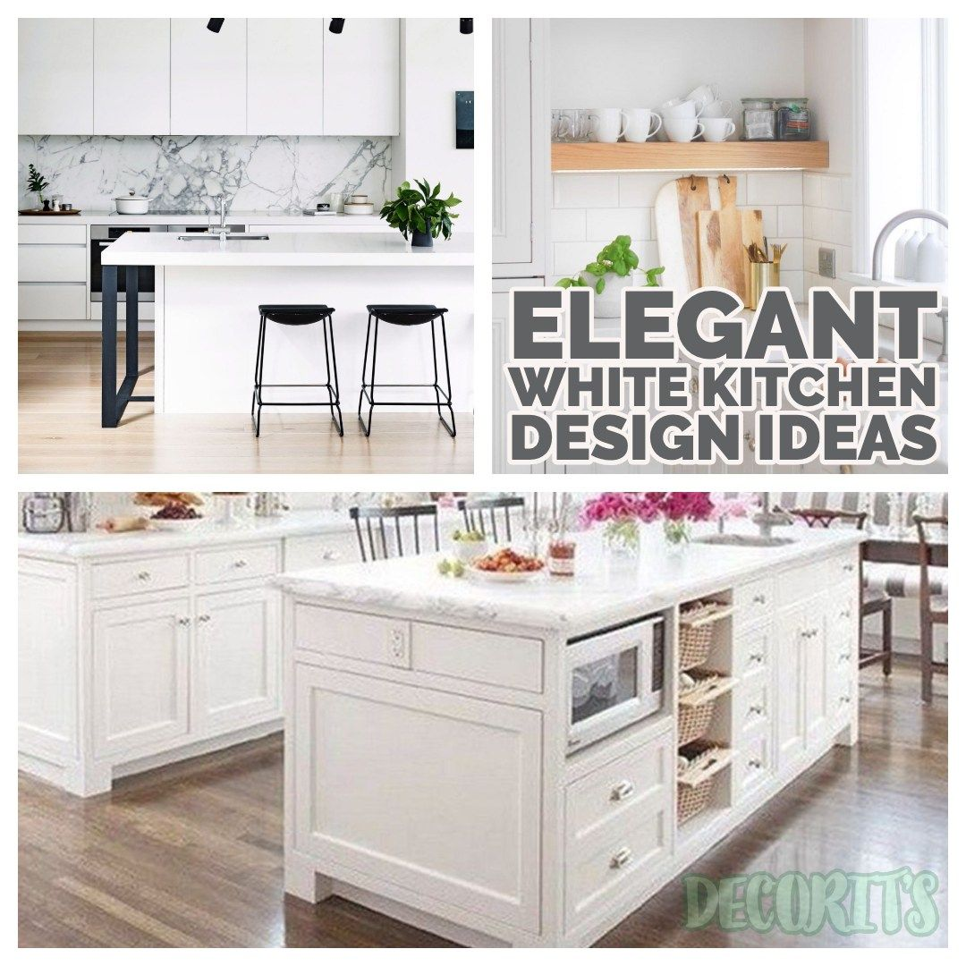 elegant white kitchen design ideas kitchen design kitchen cabinet styles white kitchen decor on kitchen organization elegant id=99269