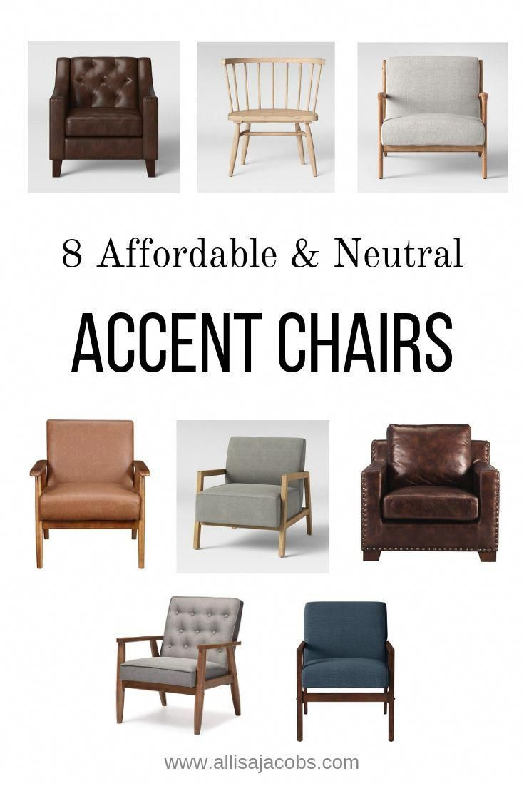 Best Affordable Neutral Accent Chairs For Modern Farmhouse And 400 x 300