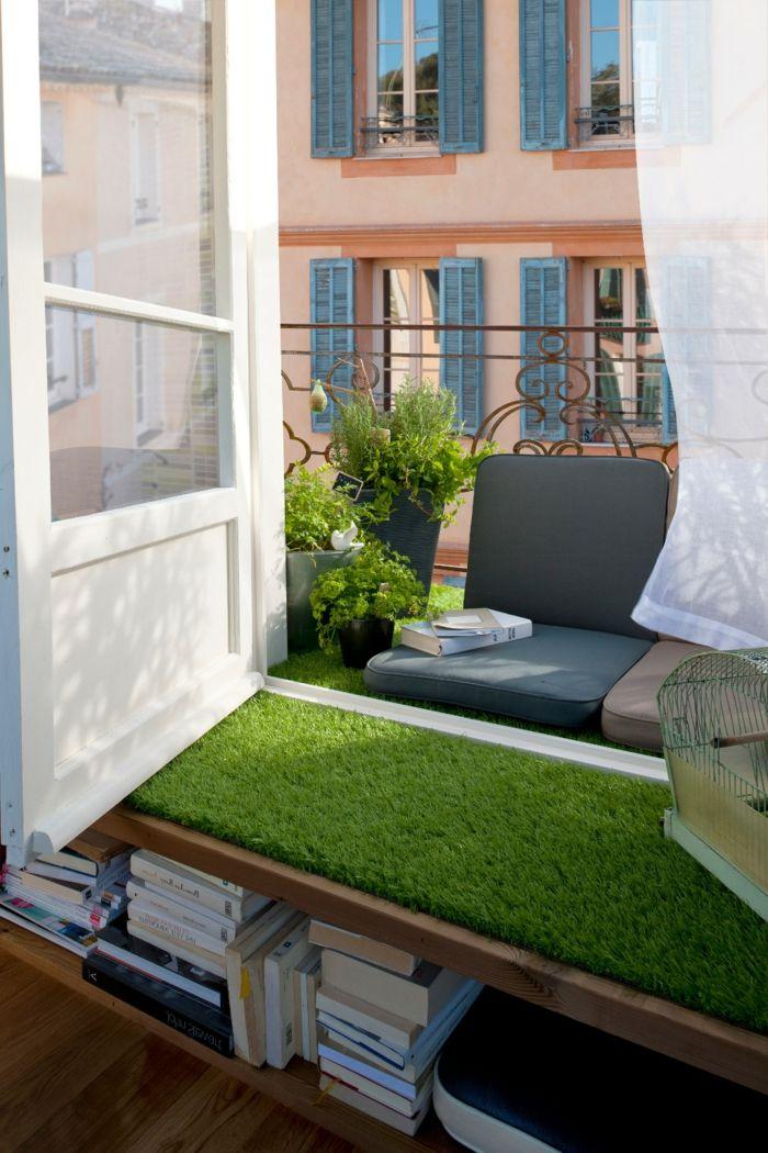 1001 ideas sobre decoraci n de terrazas peque as ideas - Ideas originales jardin ...