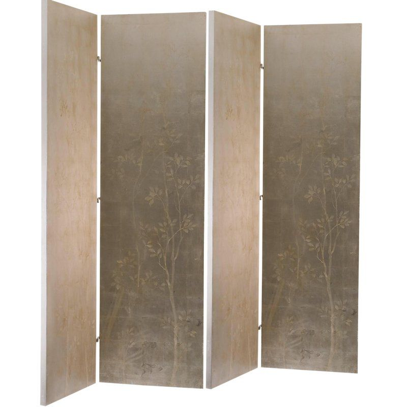 Henredon For Barbara Barry Silver Screen Room Divider Room