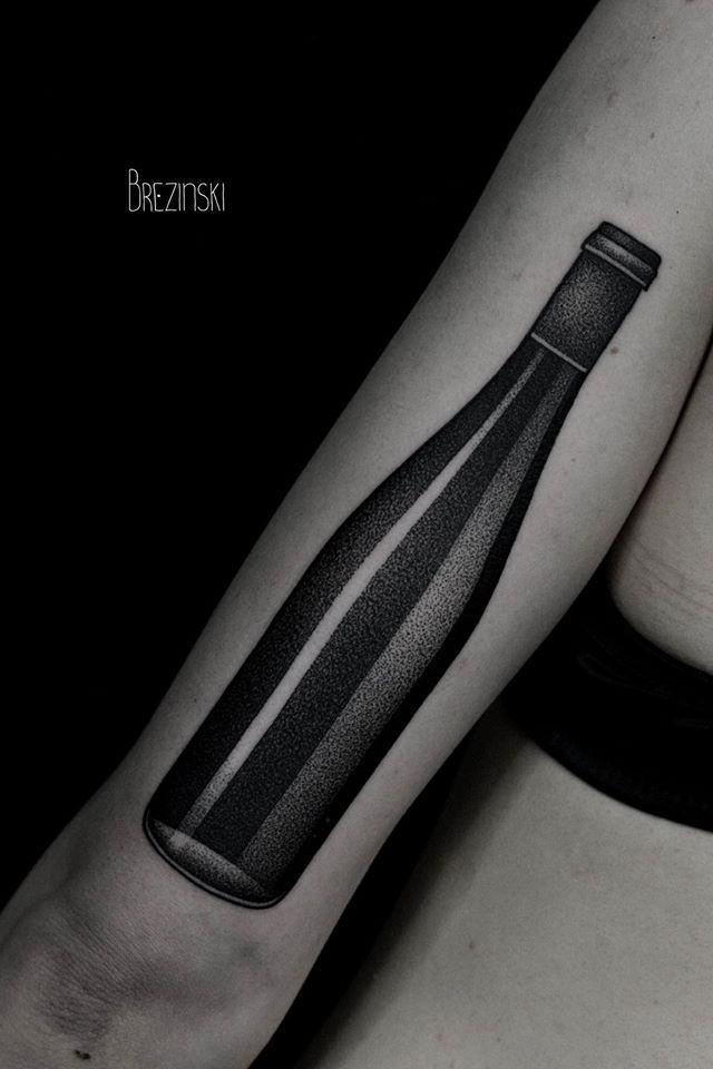 Tattoo By Ilya Brezinski I Dont Want This Tattoo But I Can - Surreal black ink tattoos by ilya brezinski