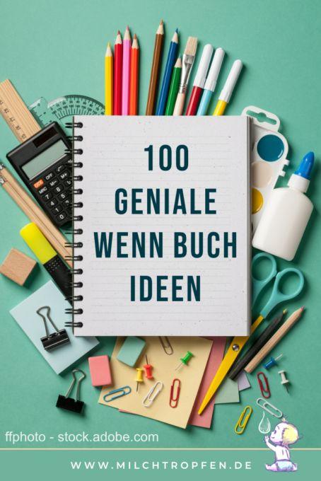 ᐅ Die Wenn Buch Liste mit 100 genialen Wenn Buch Ideen