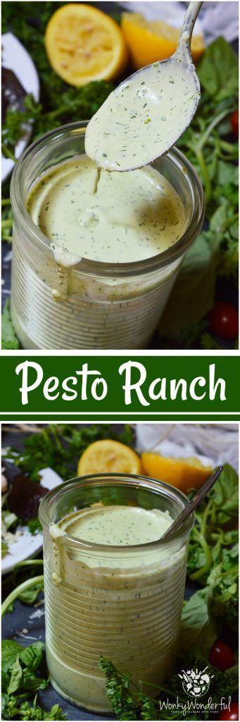 How To Make Vinaigrette Salad Dressing Ratio Variations More Recipe Ranch Dressing Recipe Pesto Ranch Dressing Homemade Salads