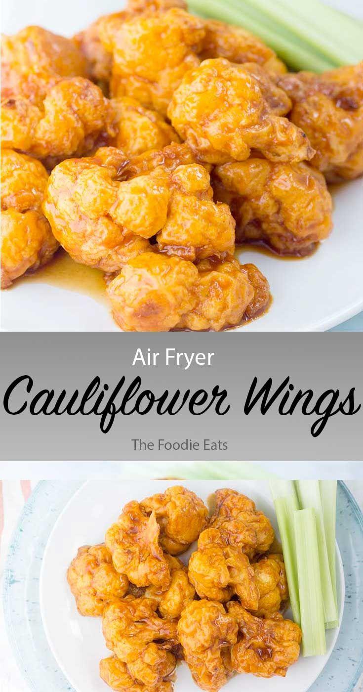 Air Fryer Cauliflower Wings Recipe Cauliflower wings