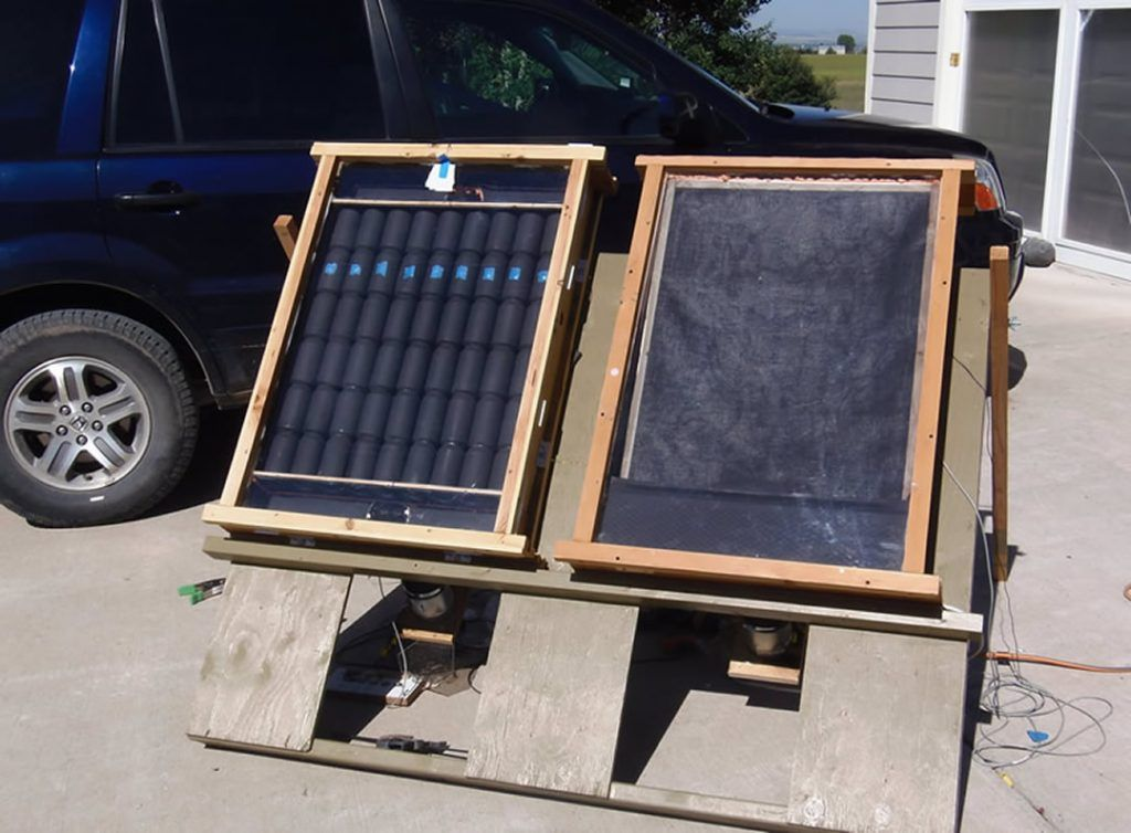 12 DIY Solar Air HeatersKeep Your Garage Warm With Little