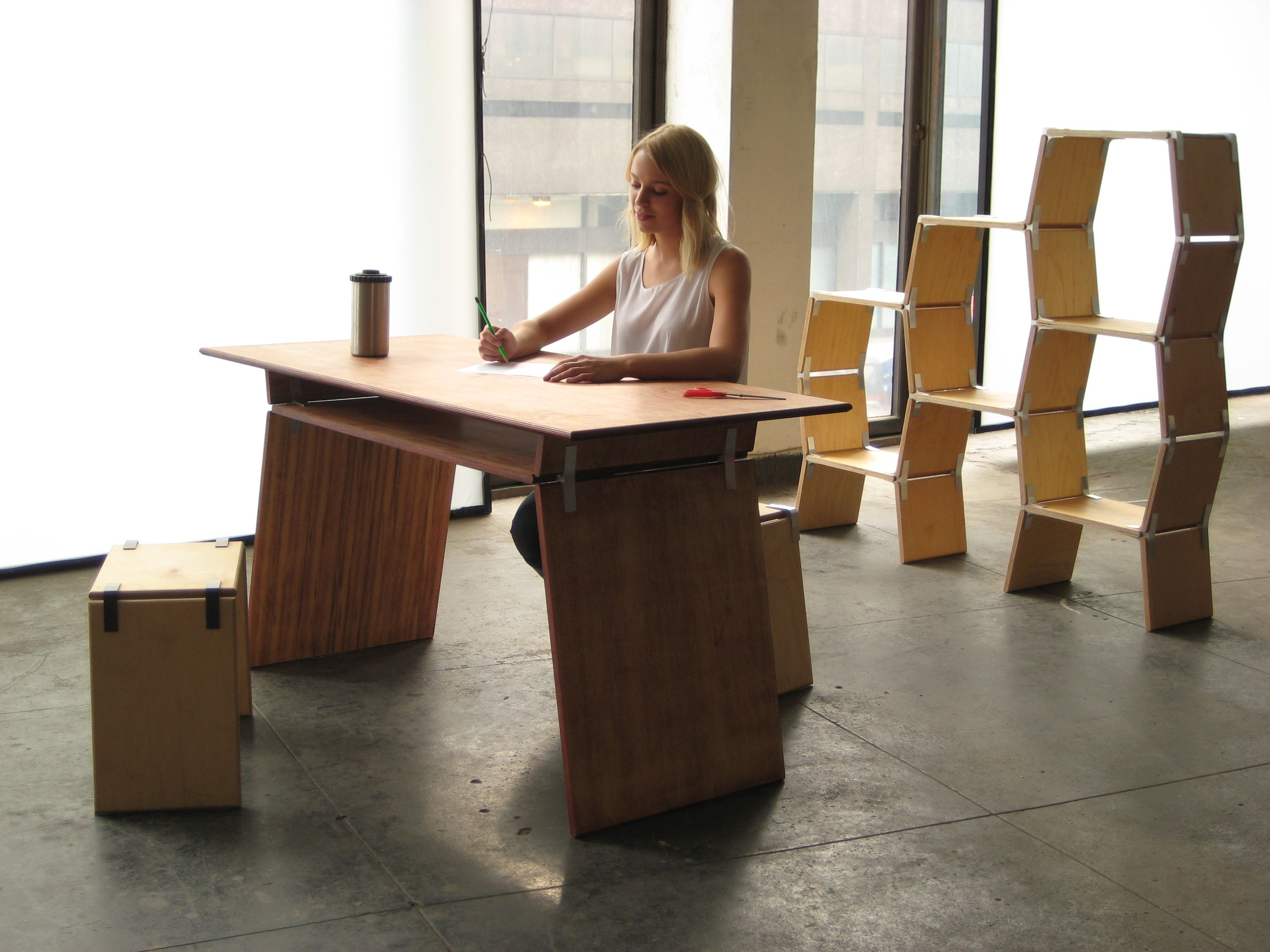 tool free furniture. Modos Is A Tool Free #furniture System That Uses Connectors And #boards To Make Furniture I