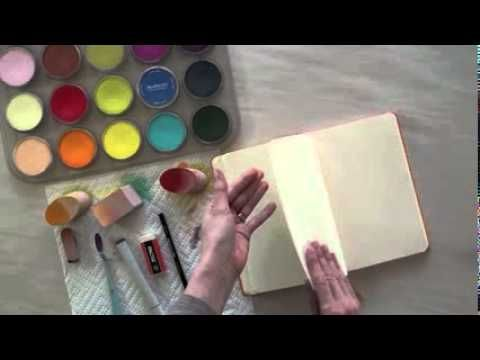 Dry Color Wash Technique Using Panpastel Colors By Colorfin