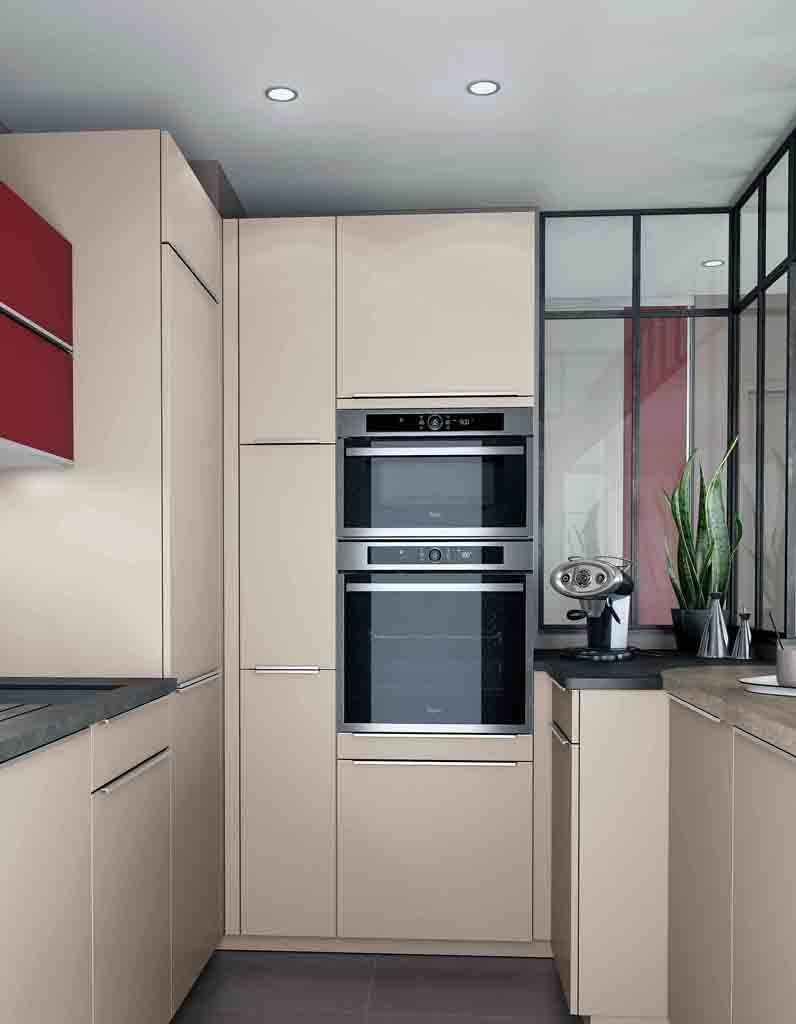 Choisissez des colonnes de placards pour optimiser la for Credence cuisine petite hauteur